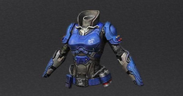 青いストライクアーマーの性能と製作材料