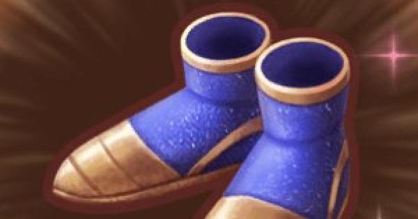 幻蝶のブーツの入手方法と強化素材