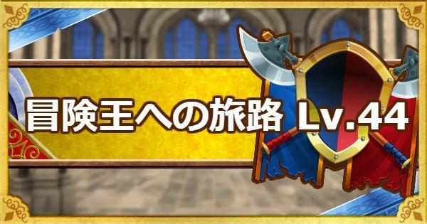 「冒険王への旅路レベル44」リオー・アーロの攻略法!
