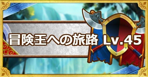 「冒険王への旅路レベル45」聖なる・黒鉄・黄金攻略法!