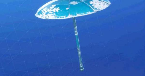 傘(グライダー)「スノーフレーク」の情報