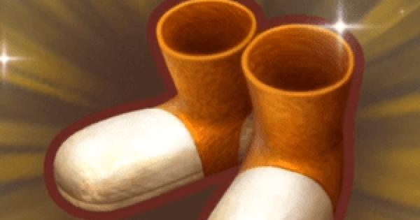 採掘王のくつの入手方法と強化素材