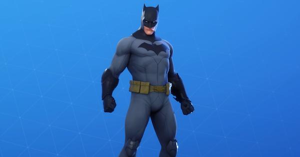 バットマンコミックコスチュームのスキン情報