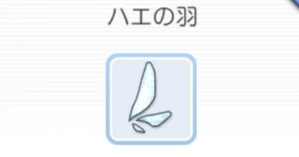 ハエの羽の入手方法