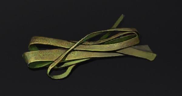 カラムシの皮の入手方法と使い道