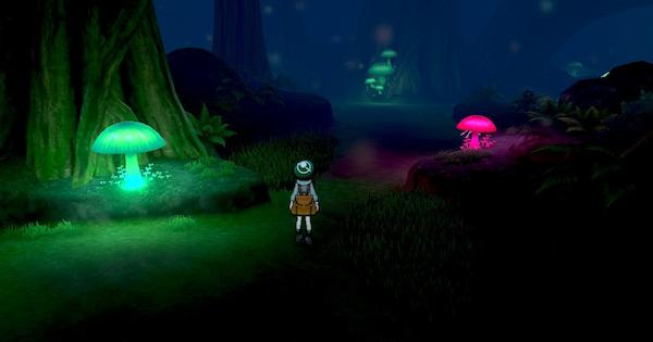 ルミナスメイズの森の出現ポケモンと入手アイテム
