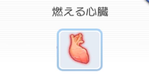 燃える心臓の入手方法