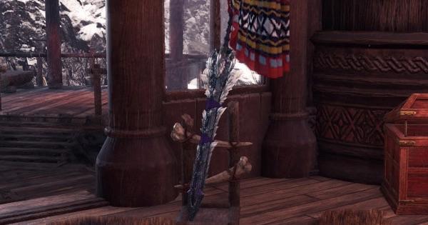 狼牙刀【悪獄】(ジンオウガ亜種の太刀)の作り方とテンプレ装備