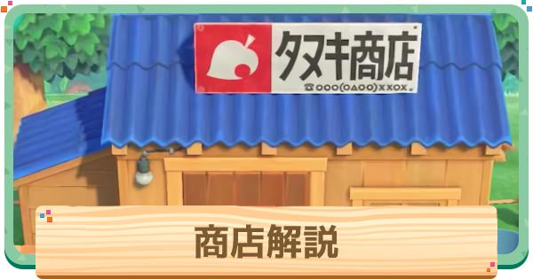 タヌキ商店の作り方と改築条件