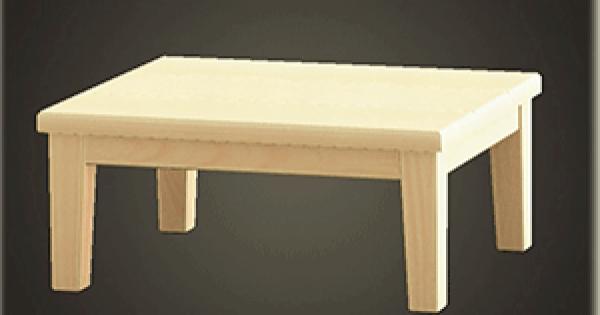 あつ森テーブル