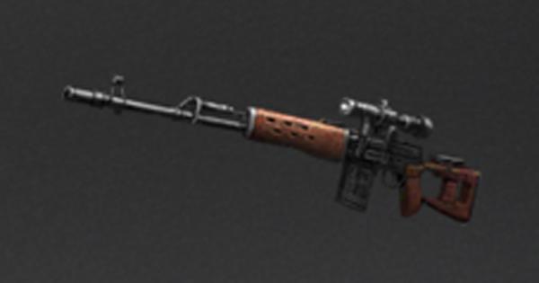SVD狙撃銃の性能一覧