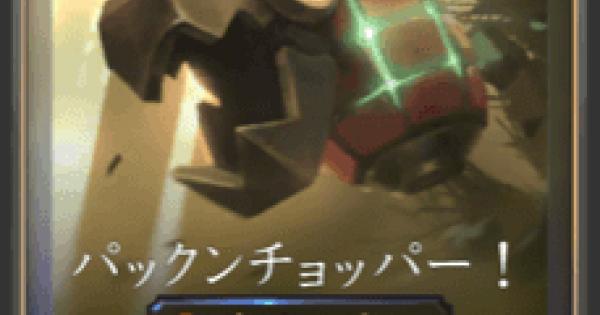 パックンチョッパー!の情報