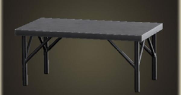 アイアンワークテーブルのレシピ(作り方)と必要素材
