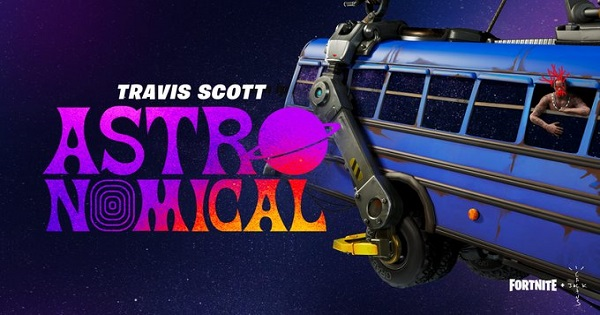 TRAVIS SCOTTコラボ!ライブイベントが決定!
