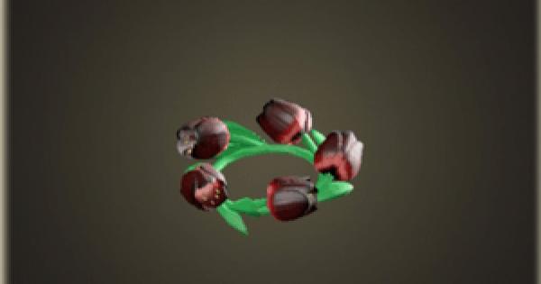 チューリップのかんむり・ダークのレシピ(作り方)と必要素材