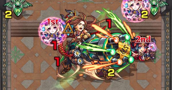 裏覇者の塔西【21階/木】攻略と適正キャラランキング