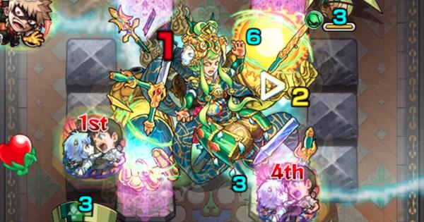 裏覇者の塔西【31階/木】攻略と適正キャラランキング
