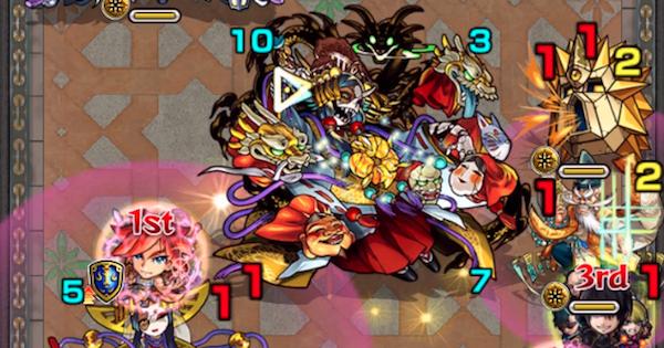 裏覇者の塔西【37階/光】攻略と適正キャラランキング