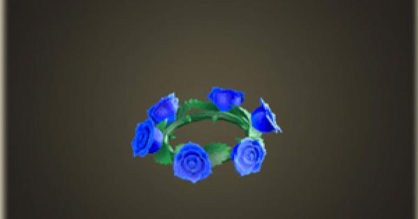 バラのかんむり・ブルーのレシピ(作り方)と必要素材