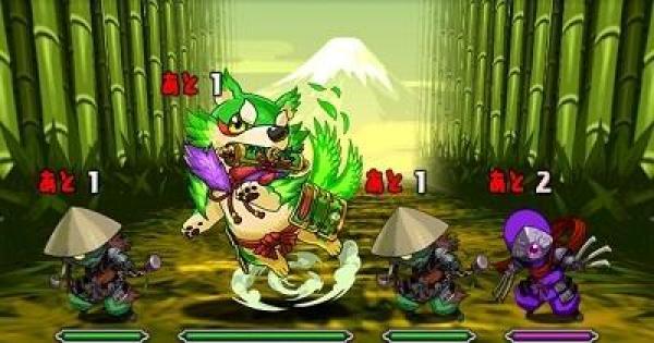 木と闇の犬龍(超地獄級)ノーコン攻略と周回パーティ