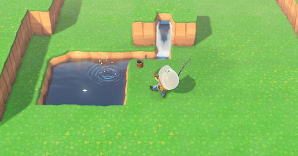 ゴミ池の作り方   ゴミだけが釣れる池
