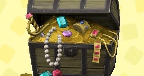 海賊の宝箱の値段(売値)と入手方法