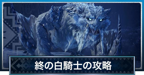 終の白騎士の攻略 | 氷刃佩くベリオロス