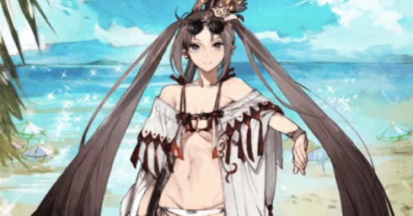 水着虞美人(ランサー)の評価 宝具とスキル性能