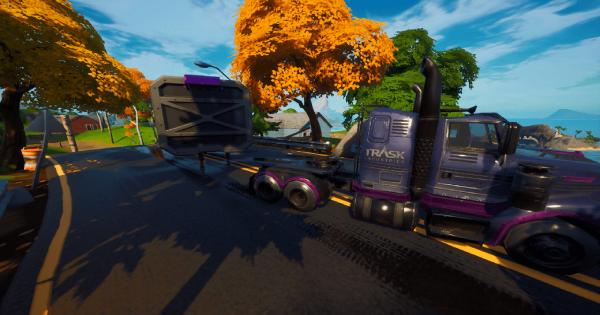 トラスクトランスポートトラックを発見する