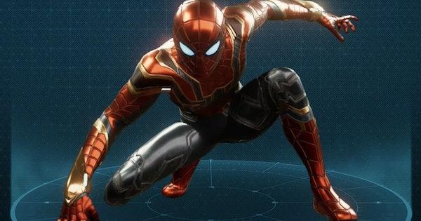 アイアンスパイダースーツの入手方法とスーツパワー