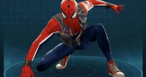 スパイダーパンクの入手方法とスーツパワー