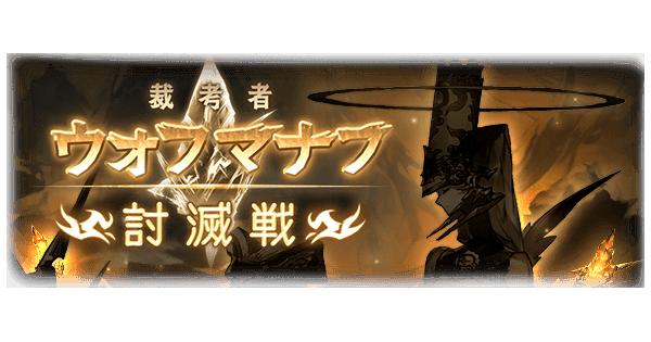 ウォフマナフ討滅戦攻略(EX/MANIAC)