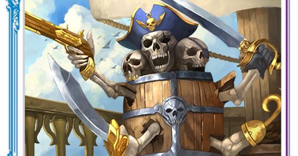 海賊バレルのカード情報と評価