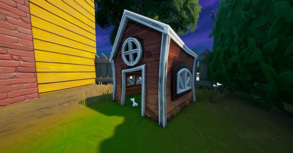 犬小屋を破壊する