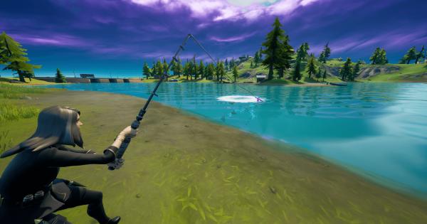 釣り場から複数のタイプの武器を釣り上げる