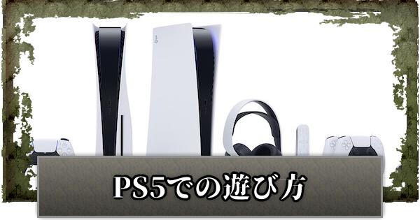 PS5版はある?