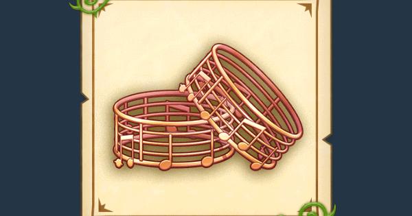 音符の金飾りの効果と入手方法