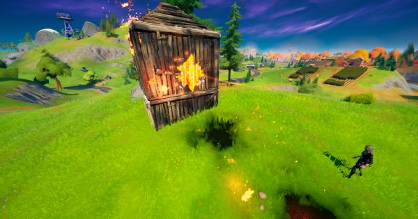 火で建築物を破壊する   レジェンドクエスト
