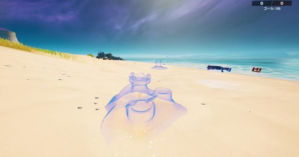 砂の城を作る