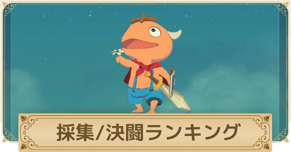決闘・探検イマージェンランキング