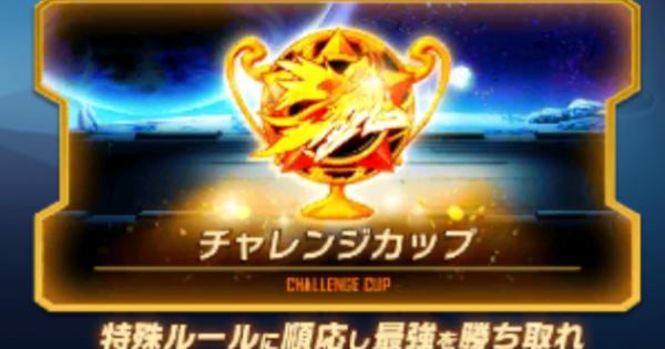 過去のチャレンジカップ攻略情報まとめ