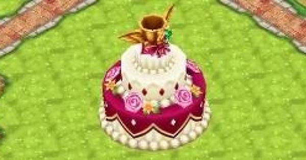 希望のウェディングケーキの必要ルーン数と早見表