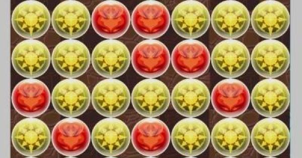 緋村剣心(7×6盤面)の最大火力配置一覧