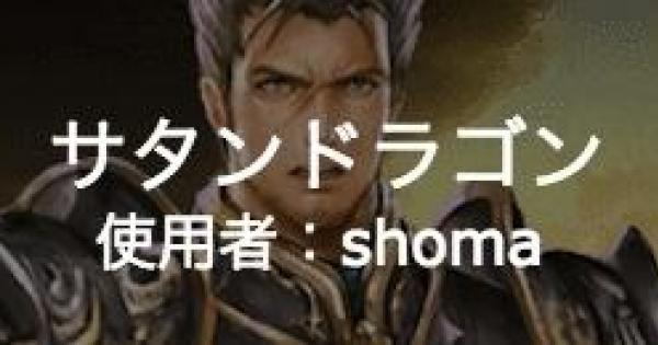 使用者:shomaの【サタンドラゴン】のデッキレシピ!