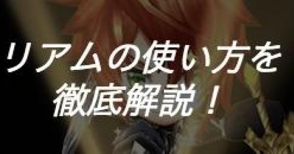 神気英雄リアムの使い方と隠し効果について解説!