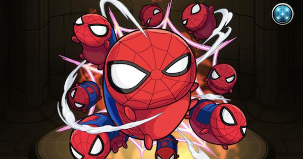 スパイダーマンの最新評価と適正クエスト|マベツムコラボ