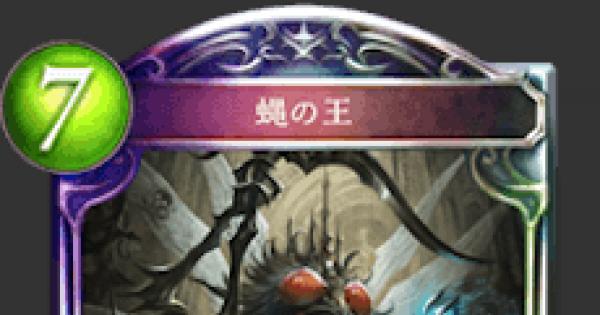 蝿の王の評価と採用デッキ