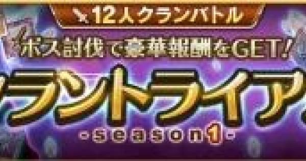 クラントライアル〜season1〜の攻略まとめ
