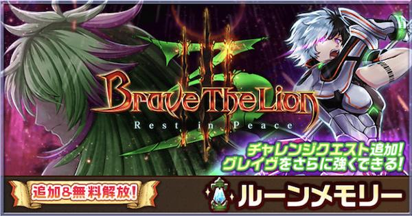 ダグラス3攻略チャート BraveTheLion3