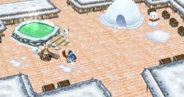 雪原に踊る秘湯の狂宴の攻略と変更点 | 協力星8